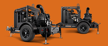 Generac Mobile trash pumps provide reliable dewatering for any jobsite.