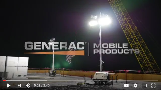 Generac Magnum LINKTower Set-up
