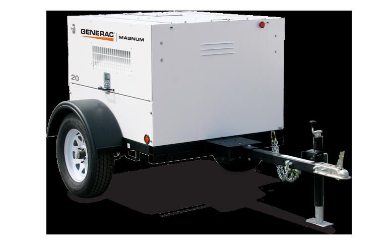 20 KW GENERAC MAGNUM Mobile Generator