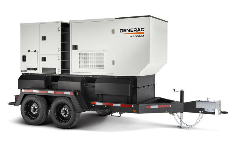 Diesel, Gaseous, and Containerized Mobile Generators