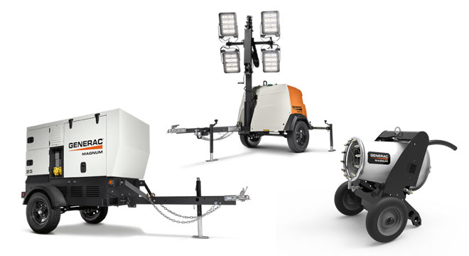 Updated Generac products